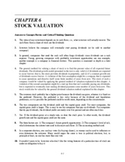 Ch 6 Stock Valuation_1