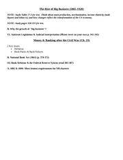 ECON 2200 Test #2 Study Guide