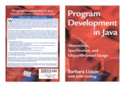 Program Development in Java - Abstraction, Specification, and Object-Oriented Design.pdf