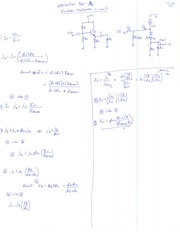 Derivation for Current Gain