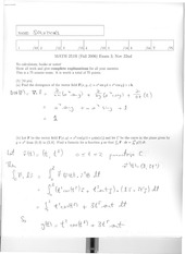 Math 2415 Final Version 3 and Solutions