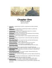 (prentice hall american government) CH 1 Vocab