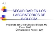 Charla Seguridad en Lab  Biol con audio