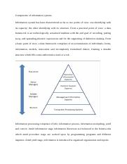 Components of information system (1).docx