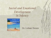 Social+and+Emotional+Dev+in+Infancy