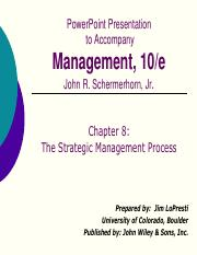 ch08R2 pdf - PowerPoint Presentation to Accompany Management