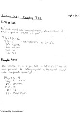 Calculating IY Examples