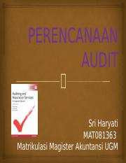 08. Perencanaan Audit
