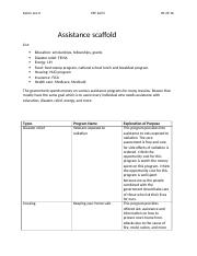 Assistance scaffold.docx