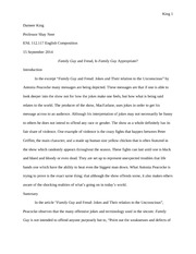 hidden intellectualism summary essay