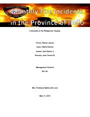 Monthly Fire Incidents in the Province of Iloilo.pdf