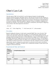 Ohm's Law Lab Report.docx