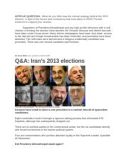 Iran 2013 elections.docx