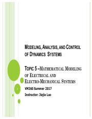 T5-Mathematical Modeling of Electrical and Electro-Mechanical Systems.pdf