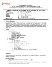 ENGR 311 Course OUTLINE-2015-2