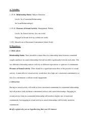 Research proposal sample psychology