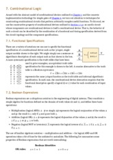 Computation Structures: 05. Combinational Logic