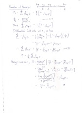 Derivation of Bond Duration