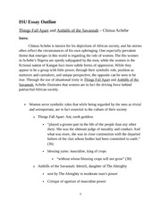 oryx and crake essay paper Title: oryx and crake essay topics, author: judith snow, name: oryx and crake essay topics, length: 7 pages, page: 1, published: 2017-12-17 issuu company logo.