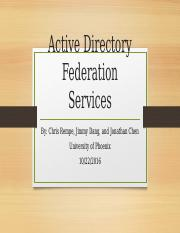 Active Directory Federation Services.pptx