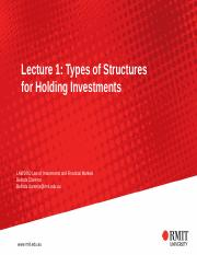 1 - Structures for Holding Investments [TP](1).pptx