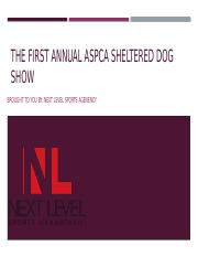 Dog show presentation FINISHED.pptx