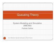 11 - Queueing Theory
