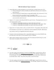 MBA 640 Chapter 4 additional questions