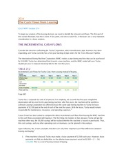 27.4 - The Cash Flows from Leasing