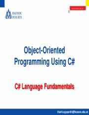 OOP@Bài 1. C# Language Fundamentals.pdf