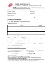Pharmacy Home Delivery Form v5