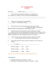 Lab 3 Density Worksheet (2) (Autosaved)