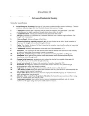 Chapter 33 (Advanced Industrial Society) study guide