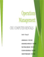 OM_SECTION B_GROUP 10_CRU RENTALS.pptx