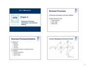 3. Chapter 2 - Business Process, Management and Decision Making