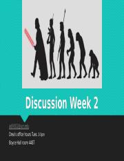 Discussion week 2 Spring 17.pptx