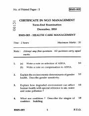 (www.entrance-exam.net)-IGNOU Certificate in NGO Management-Health Care Management Sample Paper 2.pd