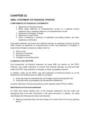 FA 3 CHAPTER 21 SMEs- STATEMENT OF FINANCIAL POSITION.docx