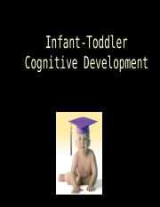 Lecture 7 Infant Cognitive Devel Fall 2016 Lewin.ppt