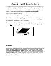 Ch 2 - Multiple Regression Analysis(3)