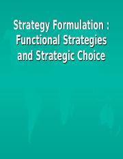 (7)Strategy Formulation, Functional Strategies.ppt