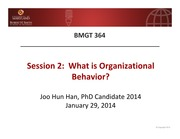 2. Introduction to OB by Han, J. 0127
