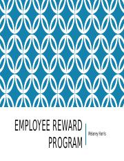 Employee Reward Program