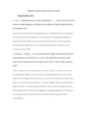English Literature Final Exam Study Guide 4