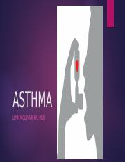 ASTHMA with notes