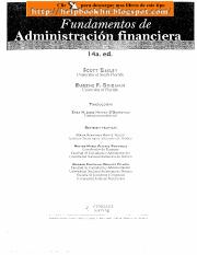 Fundamentos de administracion financiera 14 edicion scott besley pdf this is the end of the preview sign up to access the rest of the document fandeluxe Images