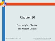 Chapter30overweight