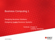 S05 Designing Usable Business Systems(2)