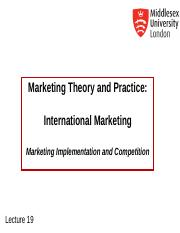 MKT1120 Lecture 19 International Marketing.ppt