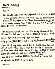 Homework G Solutions on Abstract Algebra